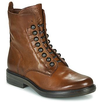 kengät Naiset Bootsit Mjus CAFE STYLE Kamelinruskea