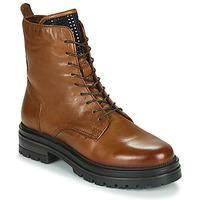 kengät Naiset Bootsit Mjus DOBLE LACE Brown