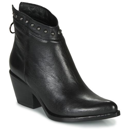 kengät Naiset Nilkkurit Mjus TEP Musta