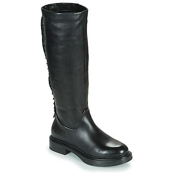 kengät Naiset Saappaat Mjus MORGANA HIGH Black