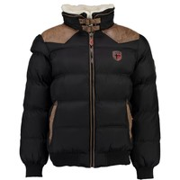 vaatteet Pojat Toppatakki Geographical Norway ABRAMOVITCH BOY Black