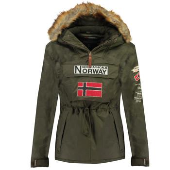vaatteet Pojat Parkatakki Geographical Norway BARMAN BOY Khaki