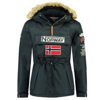 vaatteet Pojat Parkatakki Geographical Norway BARMAN BOY Laivastonsininen
