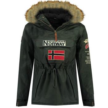 vaatteet Pojat Parkatakki Geographical Norway BARMAN BOY Harmaa