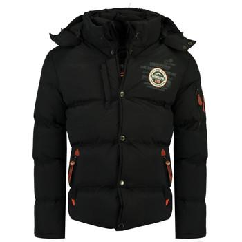vaatteet Pojat Toppatakki Geographical Norway VERVEINE BOY Black