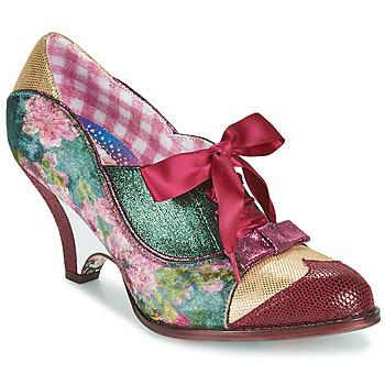 kengät Naiset Korkokengät Irregular Choice FORCE OF BEAUTY Bordeaux / Green