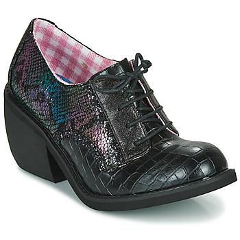 kengät Naiset Derby-kengät Irregular Choice TIPPLE Musta