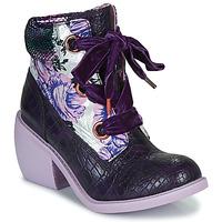 kengät Naiset Bootsit Irregular Choice SCARPER Violetti