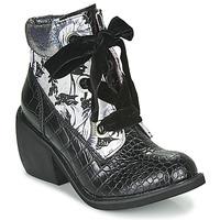 kengät Naiset Bootsit Irregular Choice SCARPER Musta