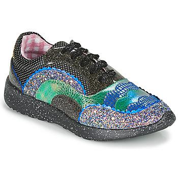 kengät Naiset Matalavartiset tennarit Irregular Choice JIGSAW Musta