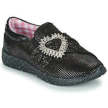 kengät Naiset Matalavartiset tennarit Irregular Choice TWO SHAKES Musta