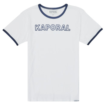 vaatteet Pojat Lyhythihainen t-paita Kaporal ONYX Valkoinen