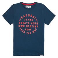 vaatteet Pojat Lyhythihainen t-paita Kaporal ORVAL Laivastonsininen