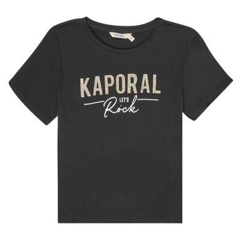 vaatteet Tytöt Lyhythihainen t-paita Kaporal MAPIK Black