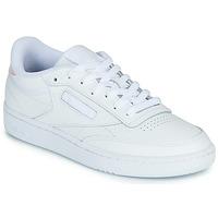 kengät Naiset Matalavartiset tennarit Reebok Classic CLUB C 85 White