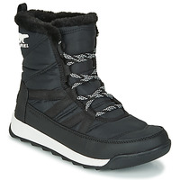 kengät Naiset Bootsit Sorel WHITNEY II SHORT LACE Black