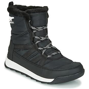 kengät Naiset Bootsit Sorel WHITNEY II SHORT LACE Musta