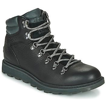 kengät Miehet Bootsit Sorel MADSON HIKER II WP Black