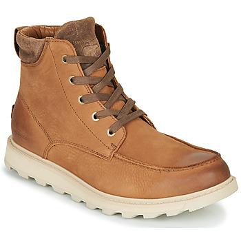 kengät Miehet Bootsit Sorel MADSON II MOC TOE WP Brown