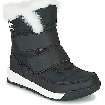 kengät Lapset Bootsit Sorel CHILDRENS WHITNEY II STRAP Black