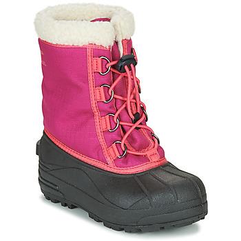 kengät Tytöt Talvisaappaat Sorel YOUTH CUMBERLAND™ Pink