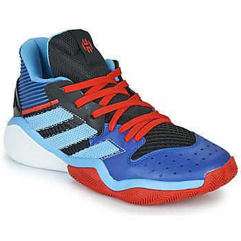 kengät Koripallokengät adidas Performance HARDEN STEPBACK Blue / Black
