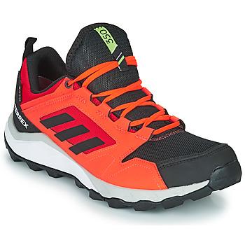 kengät Miehet Juoksukengät / Trail-kengät adidas Performance TERREX AGRAVIC TR G Red / Black