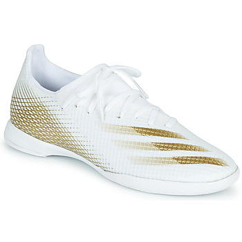 kengät Miehet Jalkapallokengät adidas Performance X GHOSTED.3 IN White