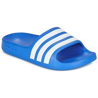 kengät Pojat Rantasandaalit adidas Performance ADILETTE AQUA K Blue / White