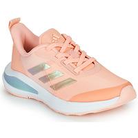 kengät Tytöt Matalavartiset tennarit adidas Performance FORTARUN  K Pink