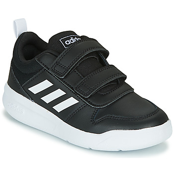 kengät Lapset Matalavartiset tennarit adidas Performance TENSAUR C Black / White