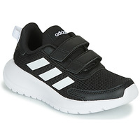 kengät Lapset Matalavartiset tennarit adidas Performance TENSAUR RUN C Black / White