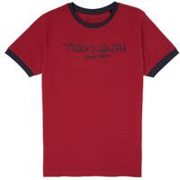 vaatteet Pojat Lyhythihainen t-paita Teddy Smith TICLASS 3 Punainen