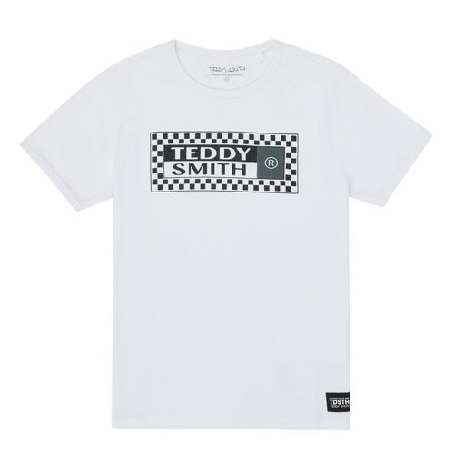 vaatteet Pojat Lyhythihainen t-paita Teddy Smith VANY White