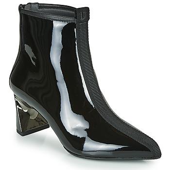 kengät Naiset Nilkkurit United nude LUCID MOLTEN MID Black