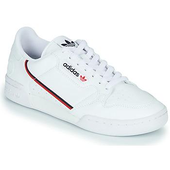kengät Matalavartiset tennarit adidas Originals CONTINENTAL 80 VEGA White