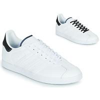 kengät Matalavartiset tennarit adidas Originals GAZELLE Valkoinen