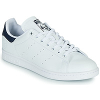 kengät Matalavartiset tennarit adidas Originals STAN SMITH VEGAN White / Blue