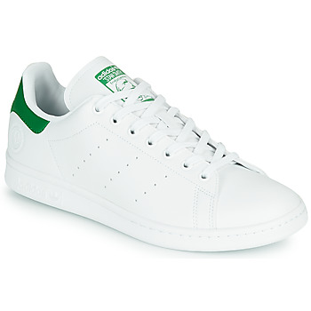 kengät Matalavartiset tennarit adidas Originals STAN SMITH VEGAN White / Green