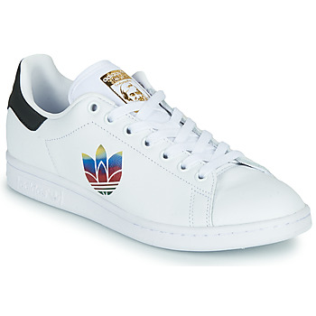kengät Naiset Matalavartiset tennarit adidas Originals STAN SMITH W White