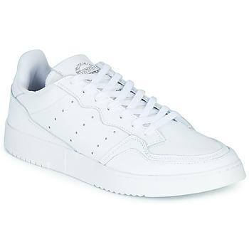 kengät Matalavartiset tennarit adidas Originals SUPERCOURT Valkoinen