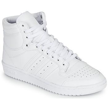 kengät Korkeavartiset tennarit adidas Originals TOP TEN Valkoinen