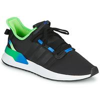 kengät Miehet Matalavartiset tennarit adidas Originals U_PATH RUN Black / Green