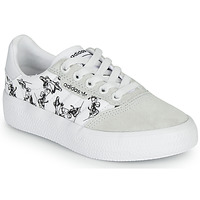 kengät Lapset Matalavartiset tennarit adidas Originals 3MC C X DISNEY SPORT White