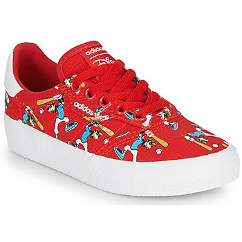 kengät Lapset Matalavartiset tennarit adidas Originals 3MC C X DISNEY SPORT Red