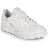 kengät Tytöt Matalavartiset tennarit adidas Originals CONTINENTAL 80 C Valkoinen