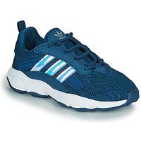 kengät Pojat Matalavartiset tennarit adidas Originals HAIWEE J Sininen