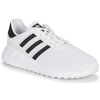 kengät Lapset Matalavartiset tennarit adidas Originals LA TRAINER LITE C White / Black