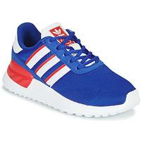 kengät Pojat Matalavartiset tennarit adidas Originals LA TRAINER LITE C Blue