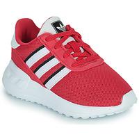 kengät Tytöt Matalavartiset tennarit adidas Originals LA TRAINER LITE EL Vaaleanpunainen